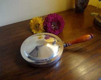 Silver Plated Silent Butler with Crest, Marked Sheridan - REDUCED
