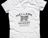 Women's Mellark Bakery T Shirt  V Neck  Sizes S - 2XL