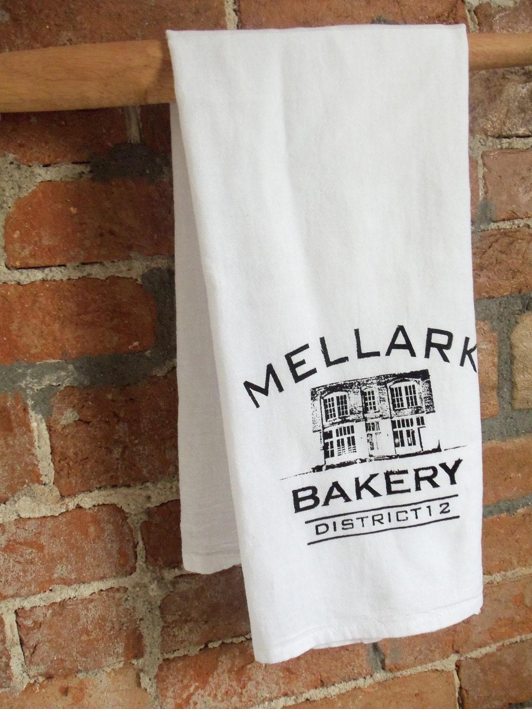 Kitchen Tea Game Mellark Bakery Flour Sack Tea Towel