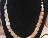Brown Spectrum Chalcedony Necklace