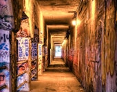 Krog St Tunnel. Atlanta. 8X10in Fine Art Photography.