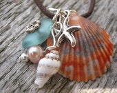 Beachcomber Charm Necklace