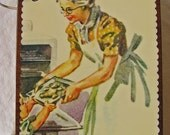 Dick and Jane wooden book
