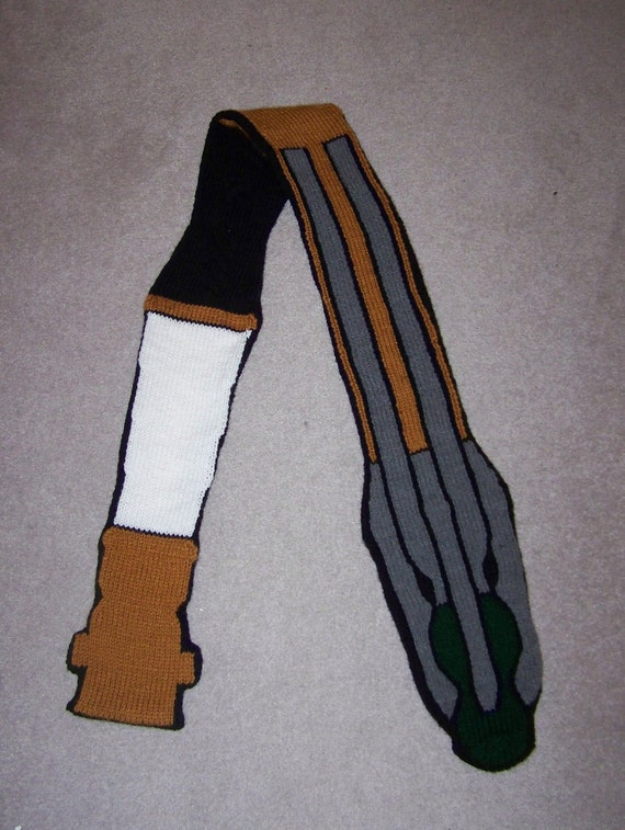 11th Doctor's Sonic Screwdriver Scarf