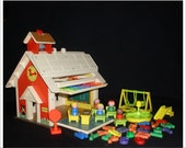 Fisher Price Little People 923 School House Extra Letters 523 Free Ship