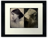 Virginia Woolf Fine Art Limited Edition Montage Photograph 7 x 5 inches