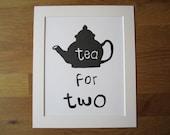 Teapot Screen Print