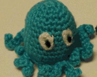 Amigurumi crochet pattern PDF Octopus