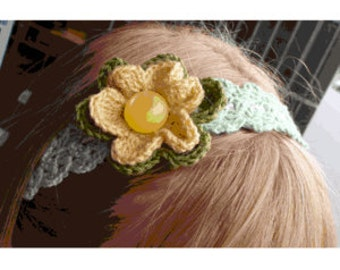 Headband or necklace crochet