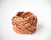 LAST GOLDEN vintage fabric bracelet