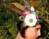 AURORA Feather Headdress Clip SALE