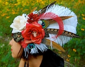 GYPSY ROSE Feather Headdress SALE