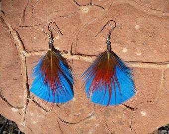 Foxy Feather Earrings