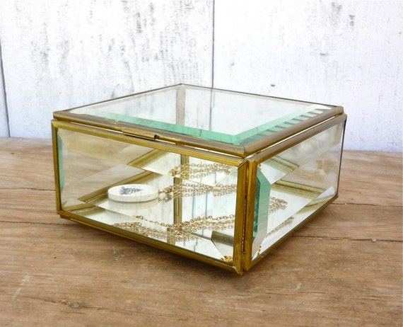 simple glass jewelry box