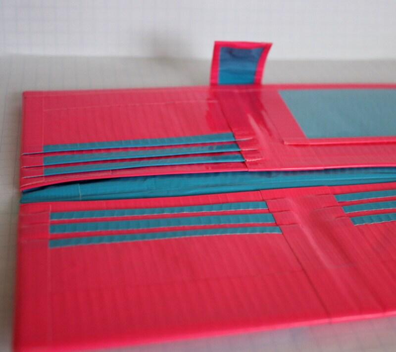 Duct Tape Women S Wallet Hot Pink Amp Light Blue