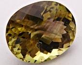 25.06  CARAT NATURAL African BI-cOLOREd  qUARTZ a Stunning Stella of a Substantial Gemstone