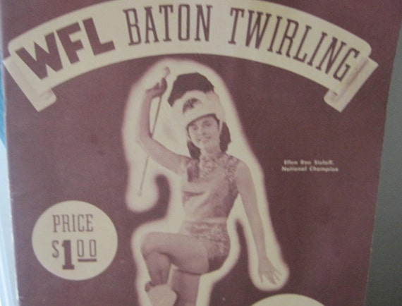 1956 WFL Baton Twirling Instruction Manual