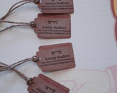 Reserved Suzanne...Personalize shop tag price tag label personalized label hang tag baby shower wedding bridal shower