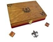 Fleur de Lys Jewelry Box