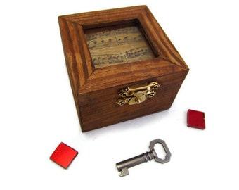 Mini Music Note Box