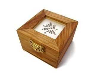 Wood Burned Bumblebee Box