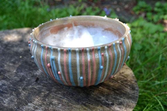 Ceramic Bowl - Drip decorated - Charming fairytale dish
