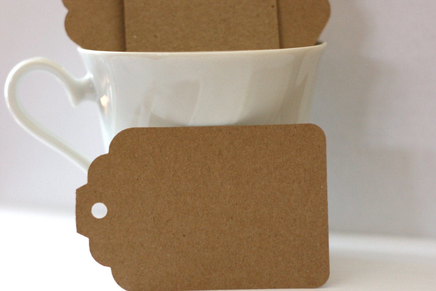 Blank Tags: 50 Kraft Tags. Hang Tags by ShelleyPress on Etsy