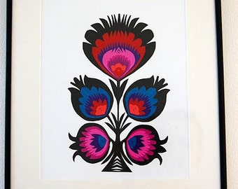 Papercuts Wycinanki Traditional Polish Folk Art  Picture
