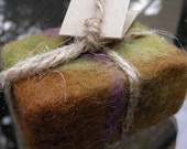 Hand Made Felted Soaps - 100% Natural - Patchouli