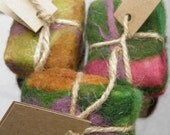 Hand Made Felted Soaps - 100% Natural - Lavender