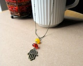 Gimme a Hand - Fatima Hamsa Necklace