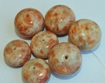 Sunstone 18mm and 20mm Beads