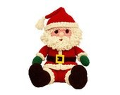 PDF Crochet Santa Pattern - Amigurumi Pattern Santa Doll (7277) Td creations