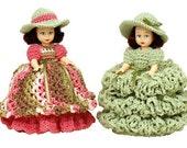 PDF Amigurumi Crochet Toilet Paper Cover Pattern - Toilet Paper Doll Cover - PDF Pattern (7227) Td creations