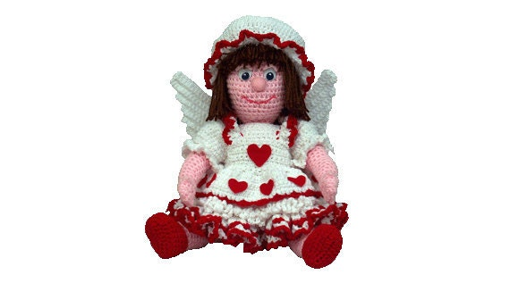 PDF Amigurumi Angel Crochet Angel Doll Pattern 16
