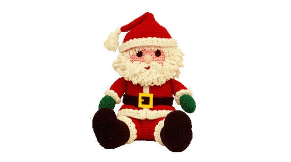 Amigurumi Santa - Crochet Santa Pattern - Santa Pattern 16 Inch Using 4 Ply Yarn Paper Pattern (7277) Td creations
