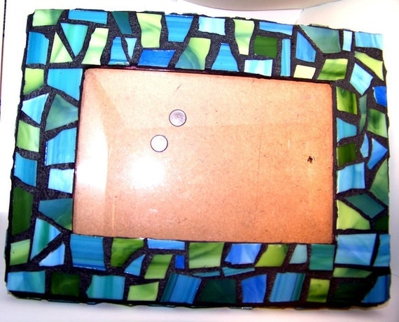 Beach Inspired Picture Frame (2 sided)