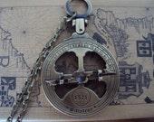 Astrolabe Necklace - Nautical Sundial - Fully functioning