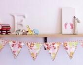 Custom order for Jill Alexander ALLYN Personalized butterfly bunting nursery decor