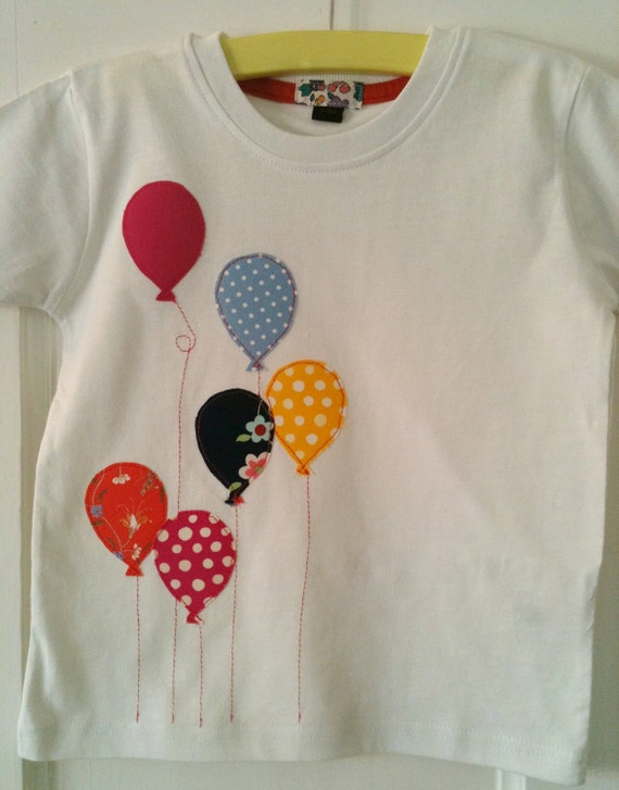 Articles similaires b b fille ballon appliqued tailles for Aplicaciones decoradas