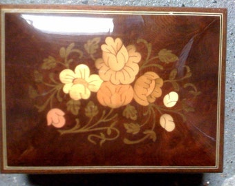 Vintage REUGE Jewelry music box