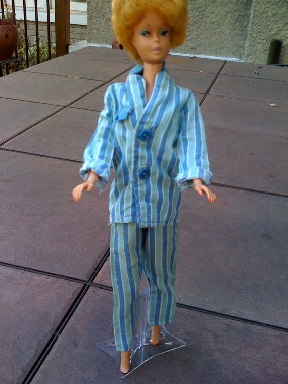 Vintage Barbie Pajamas and Nightgown 1960s