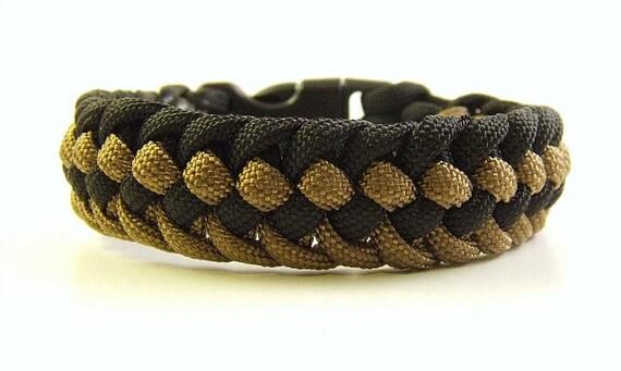 Paracord  Genoese Zipper Sinnet Bracelet Custom