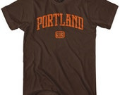 Portland 503 T-shirt - Men and Kids - XS S M L XL 2x 3x 4x - PDX Tee - 4 Colors