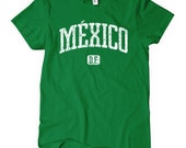 Women's Mexico D.F. T-shirt - S M L XL 2x - Ladies Mexico City Tee - Mexican - 4 Colors