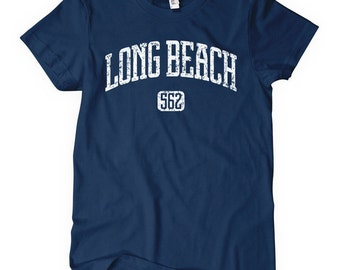 Women's Long Beach 562 Tee - S M L XL 2x - Ladies Long Beach T-shirt - California - 4 Colors
