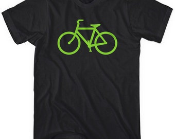 Bike Route T-shirt - Men and Kids - XS S M L XL 2x 3x 4x - Cycling Tee - 4 Colors
