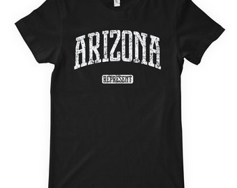 Women's Arizona Represent T-shirt - S M L XL 2x - Ladies Arizona Tee - 4 Colors