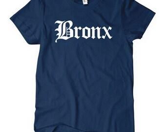 Women's Bronx Gothic T-shirt - NYC Ladies Tee - S M L XL 2x - New York - Bronx Shirt - 4 Colors