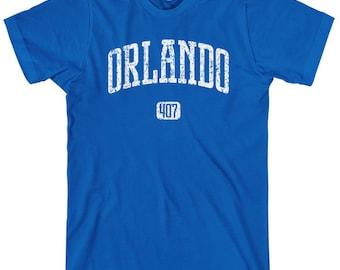 Orlando 407 T-shirt - Men and Unisex - XS S M L XL 2x 3x 4x - Orlando Florida Tee - 4 Colors